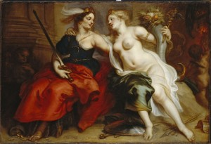 Allegory of Justice and Peace by Theodoor van Thulden