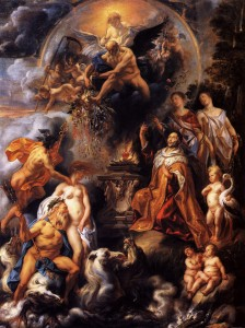 Allegory of the Peace of Westphalia by Jacob Jordaens, 1654