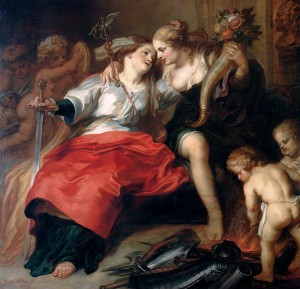 The Return of Peace by Theodoor van Thulden